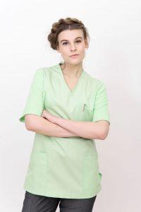 Puronen Luoto naisten hoitopaikkapaita vihreä