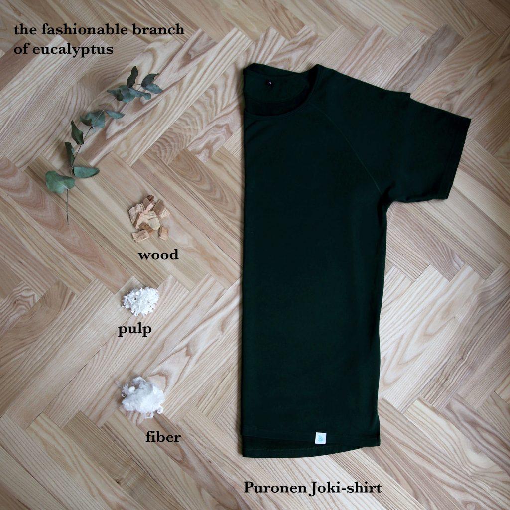 Puronen Joki-paita tencel
